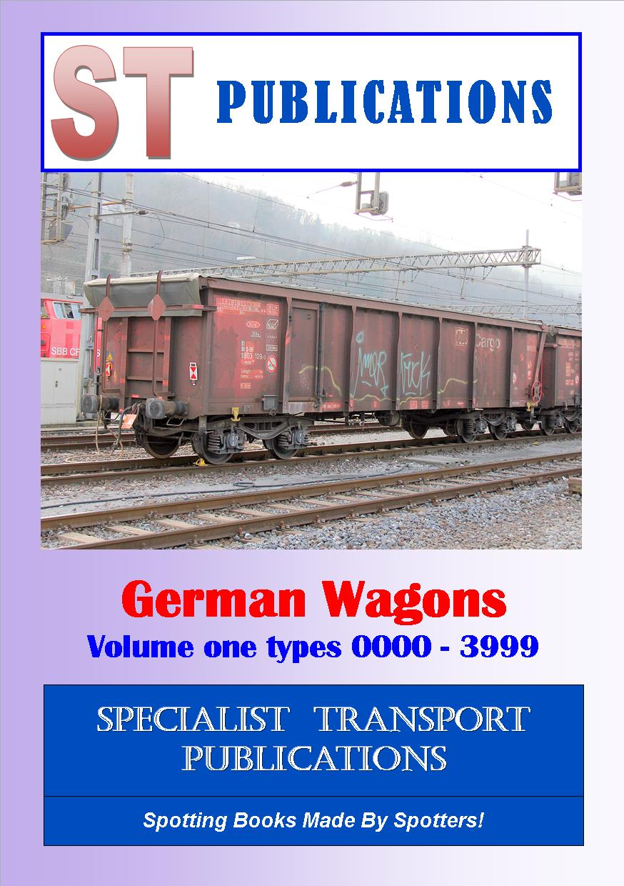 Cover of German Wagons Type 0000 to 3999