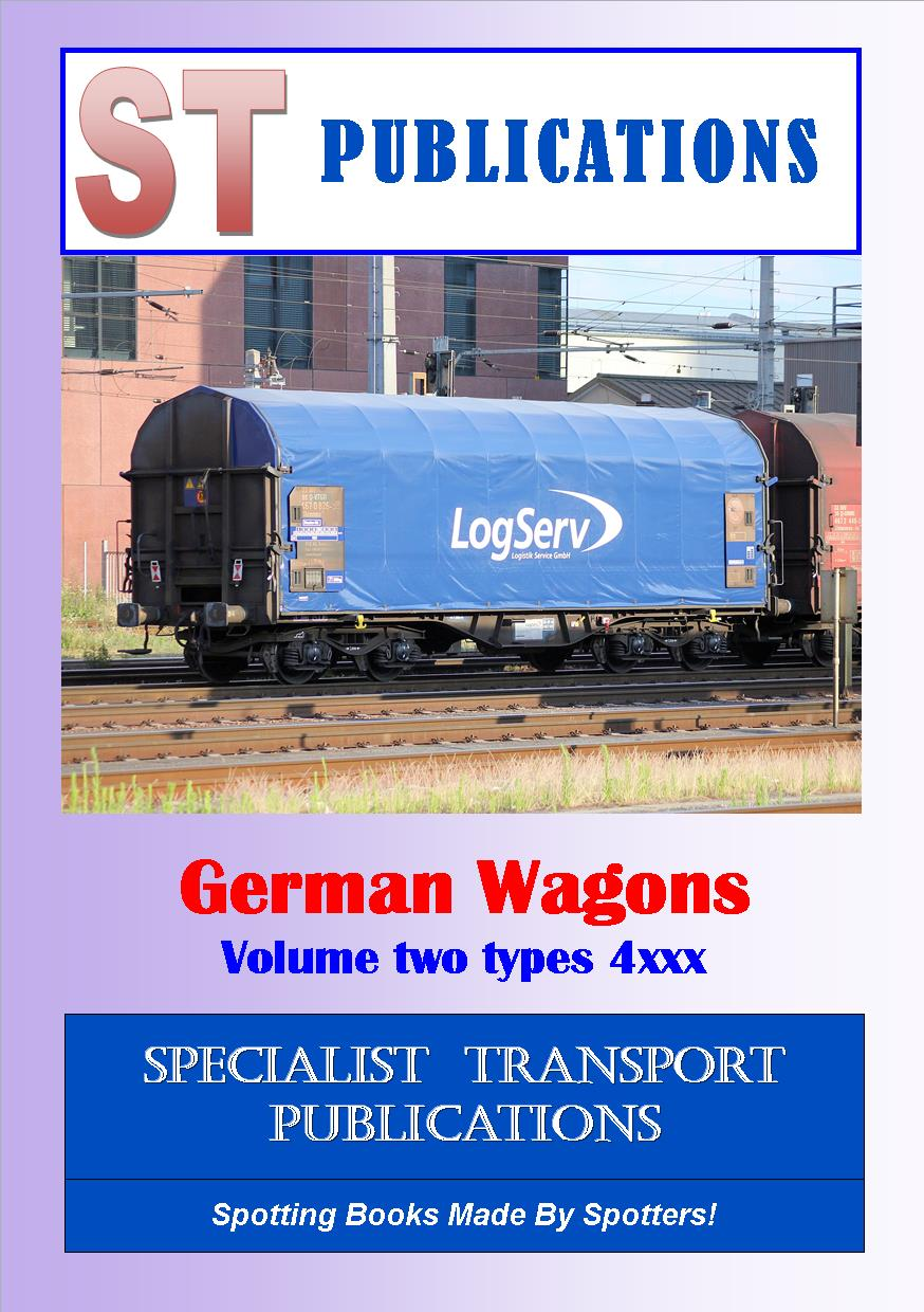 Cover of German Wagons Volume Two Type 4xxx