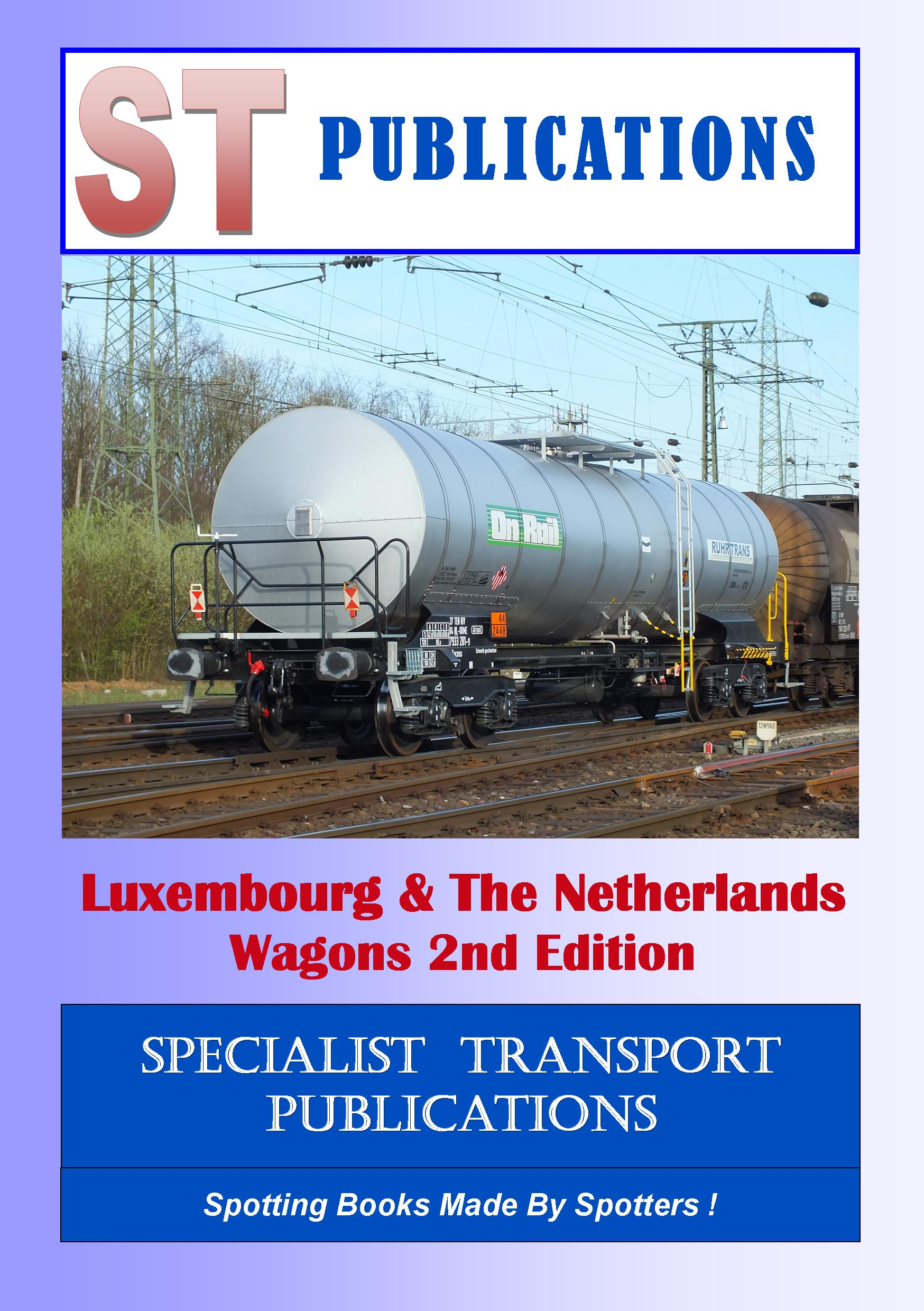 Cover of Luxembourg & Netherlands Wagons 2013
