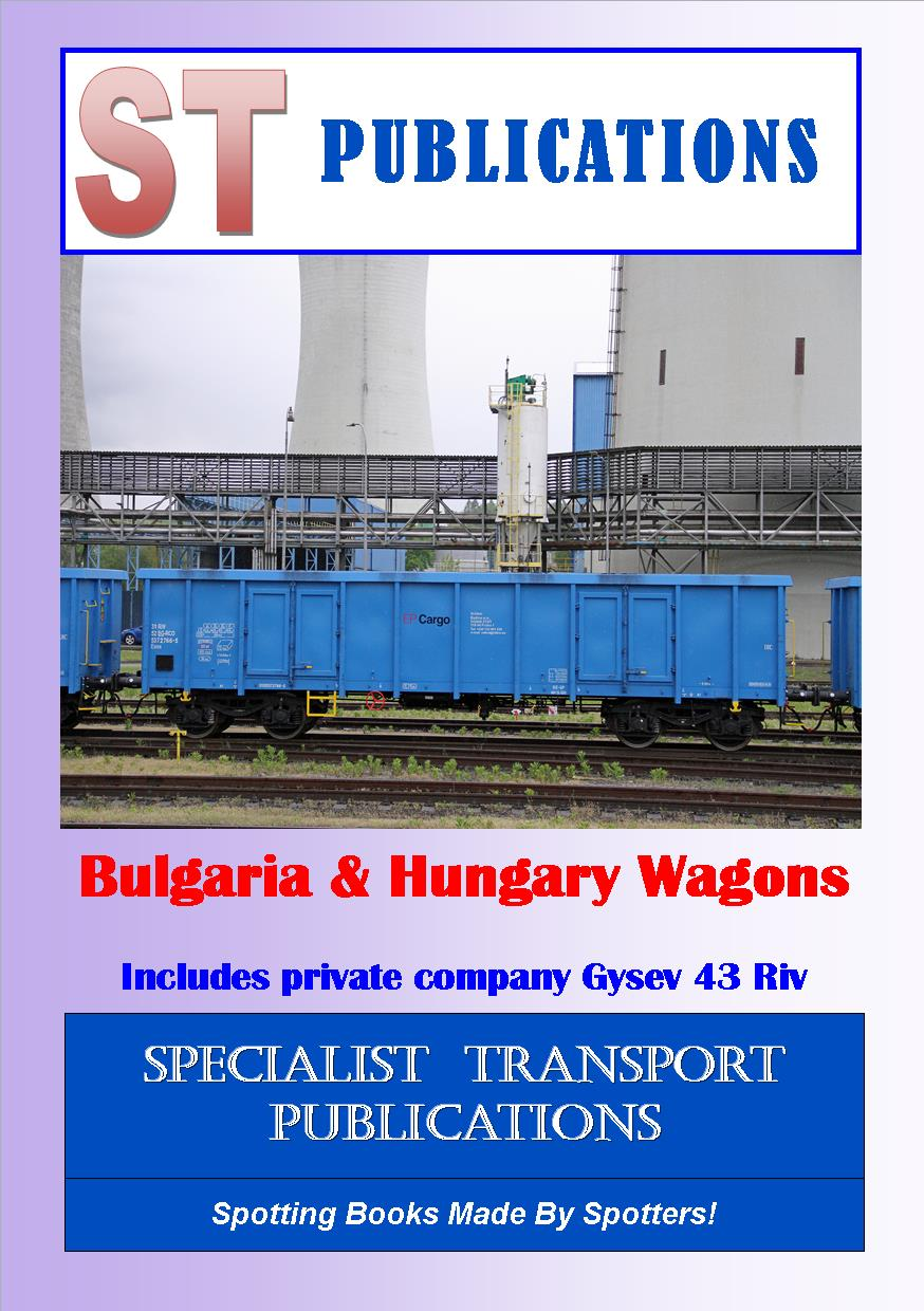 Cover of  Bulgaria & Hungary Wagons
