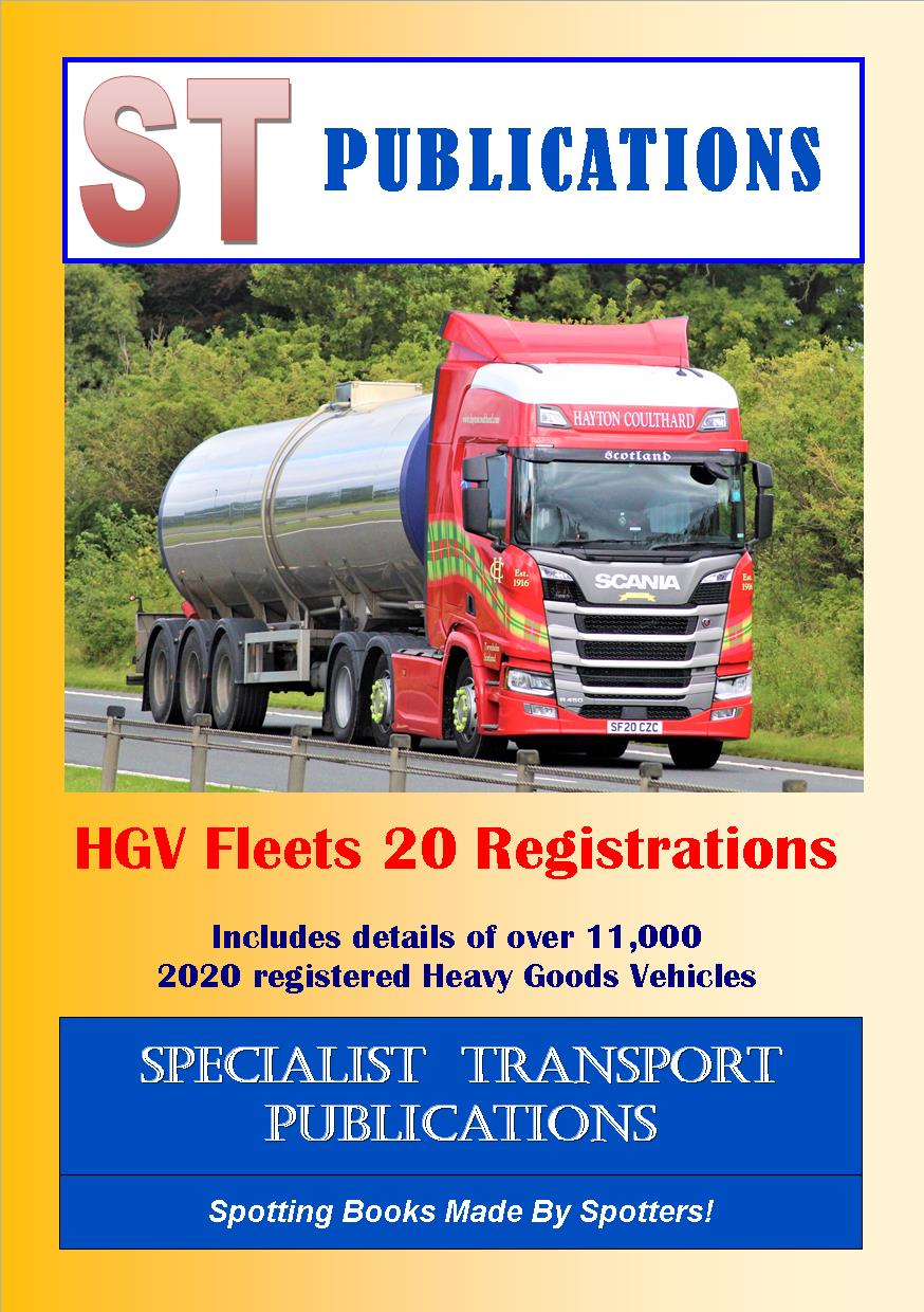 Cover of HGV Fleets 20 Registrations