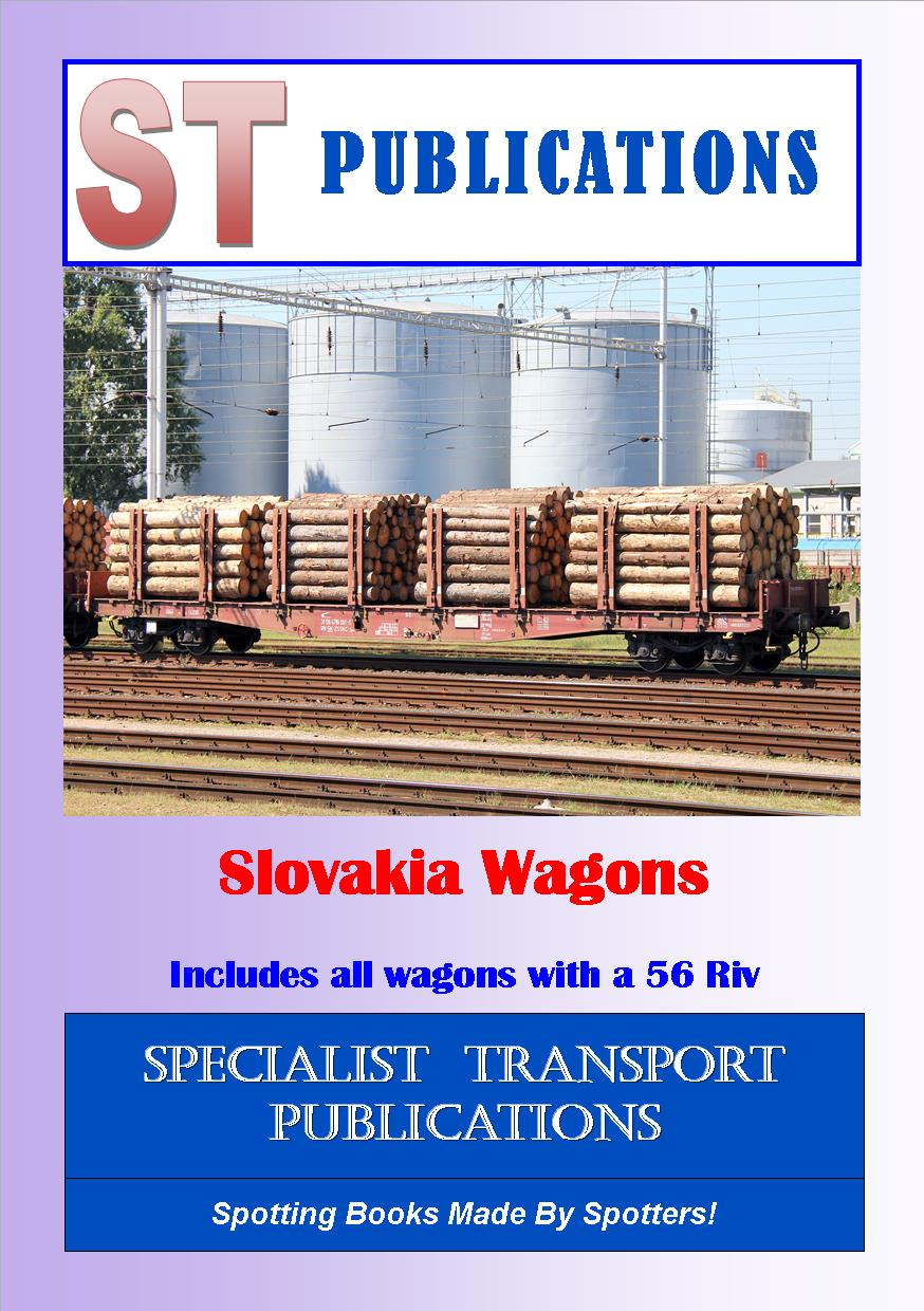 Cover of Slovakia Wagons