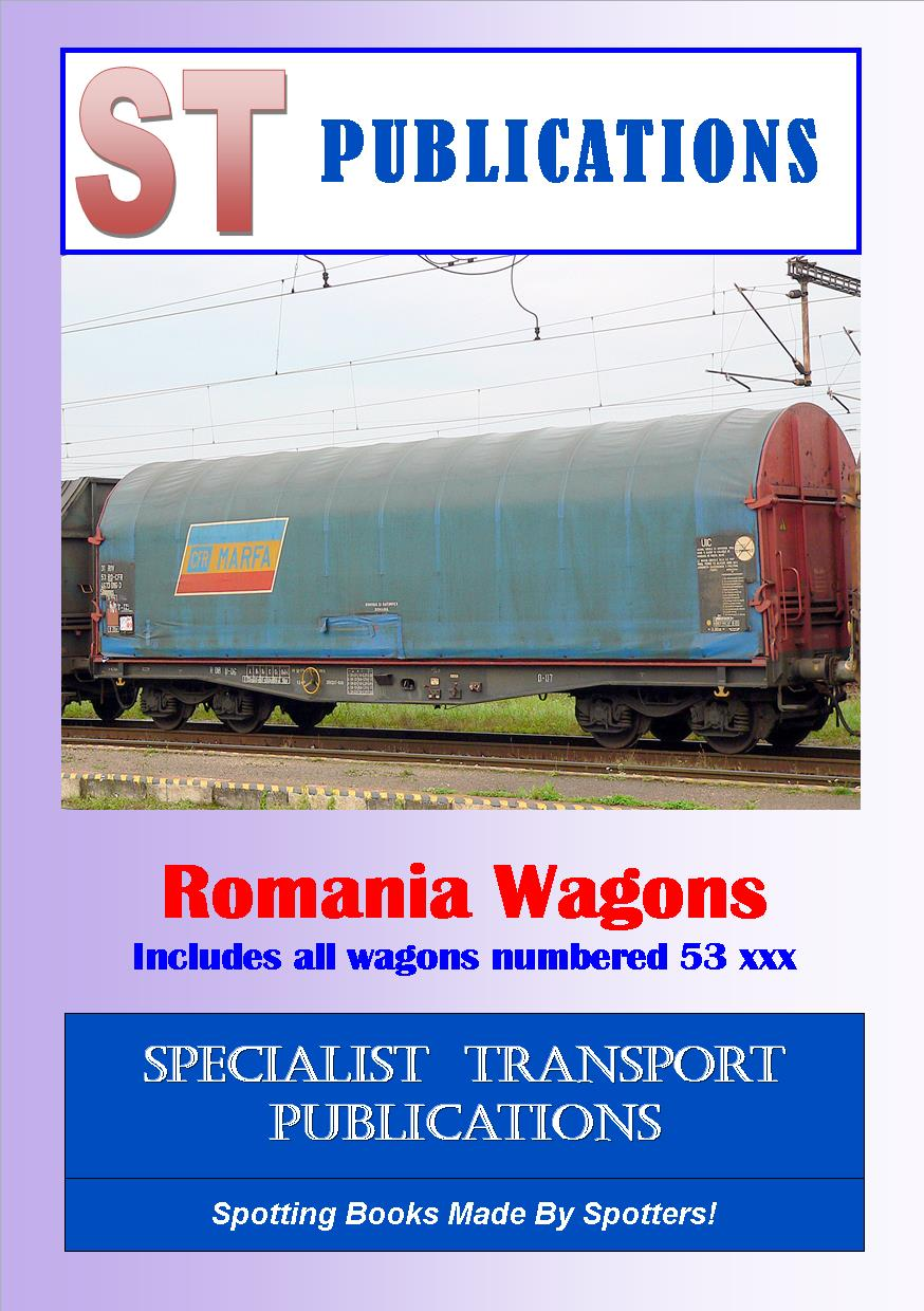 Cover of Romanian wagons