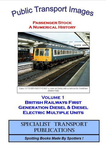 Cover of No 1 - First Generation Diesel Multiple Units