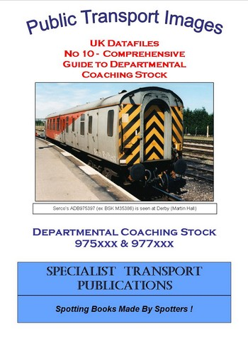 Cover of No 10 - BR Departmental Coaching Stock