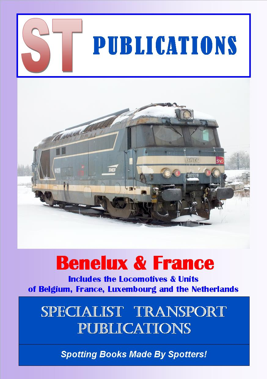 Cover of France Locomotives and Units 2020
