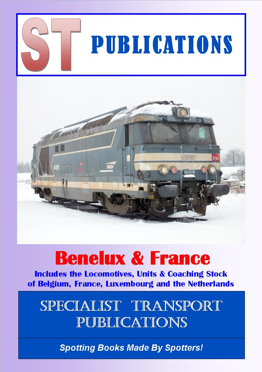 Cover of European Rail datafile - Benelux 2019