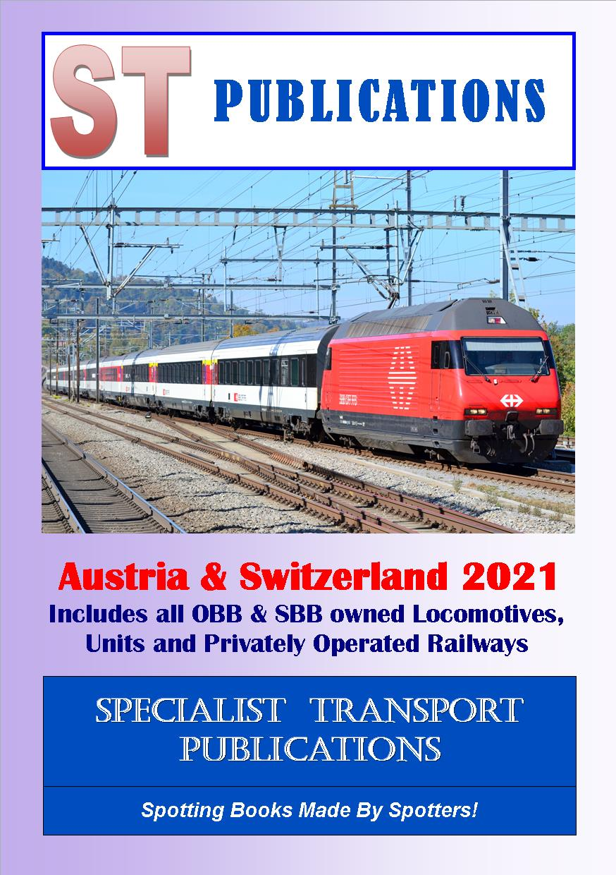 Cover of Austria & Switzerland Locos & Units 2018