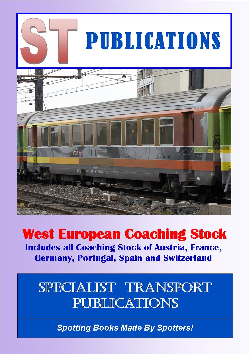 Cover of West European Coaching Stock