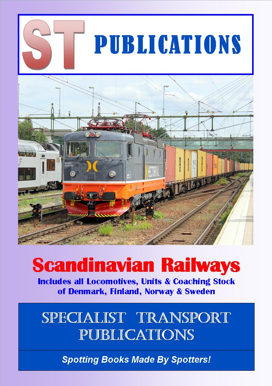 Cover of Scandinavian Railways (exc. Coaching Stock)