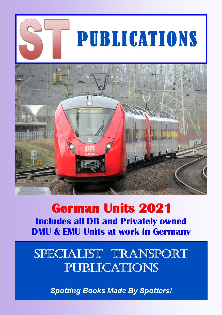 Cover of German Multiple Units 2019
