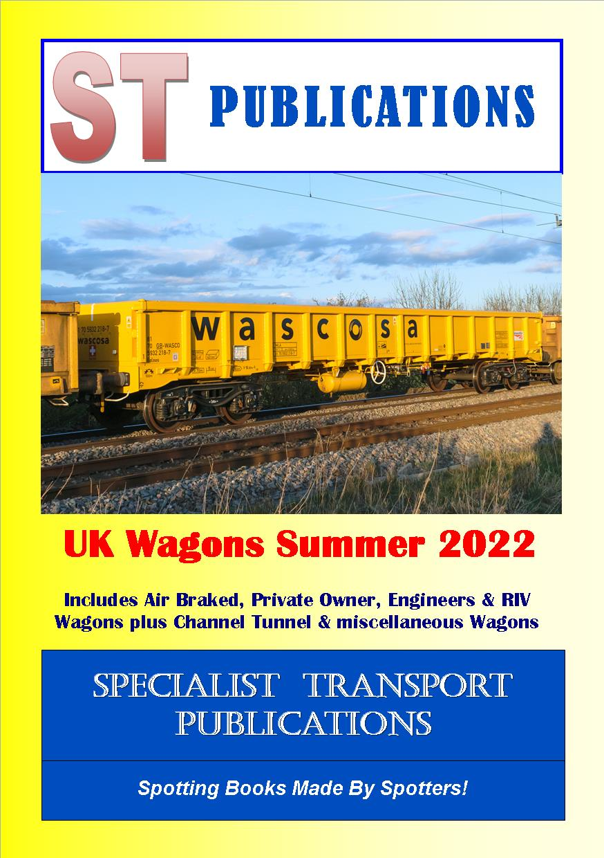 Cover of UK Wagons Summer 2019