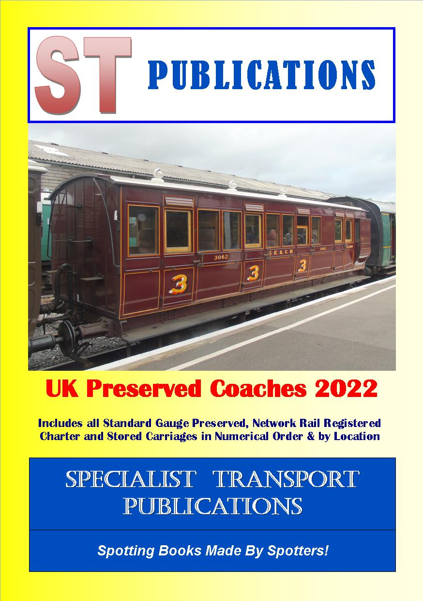 Cover of UK Preserved Coaches 2018