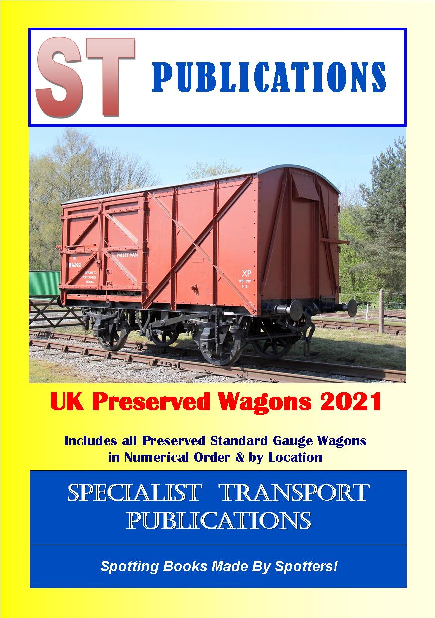Cover of UK Preserved Wagons 2018