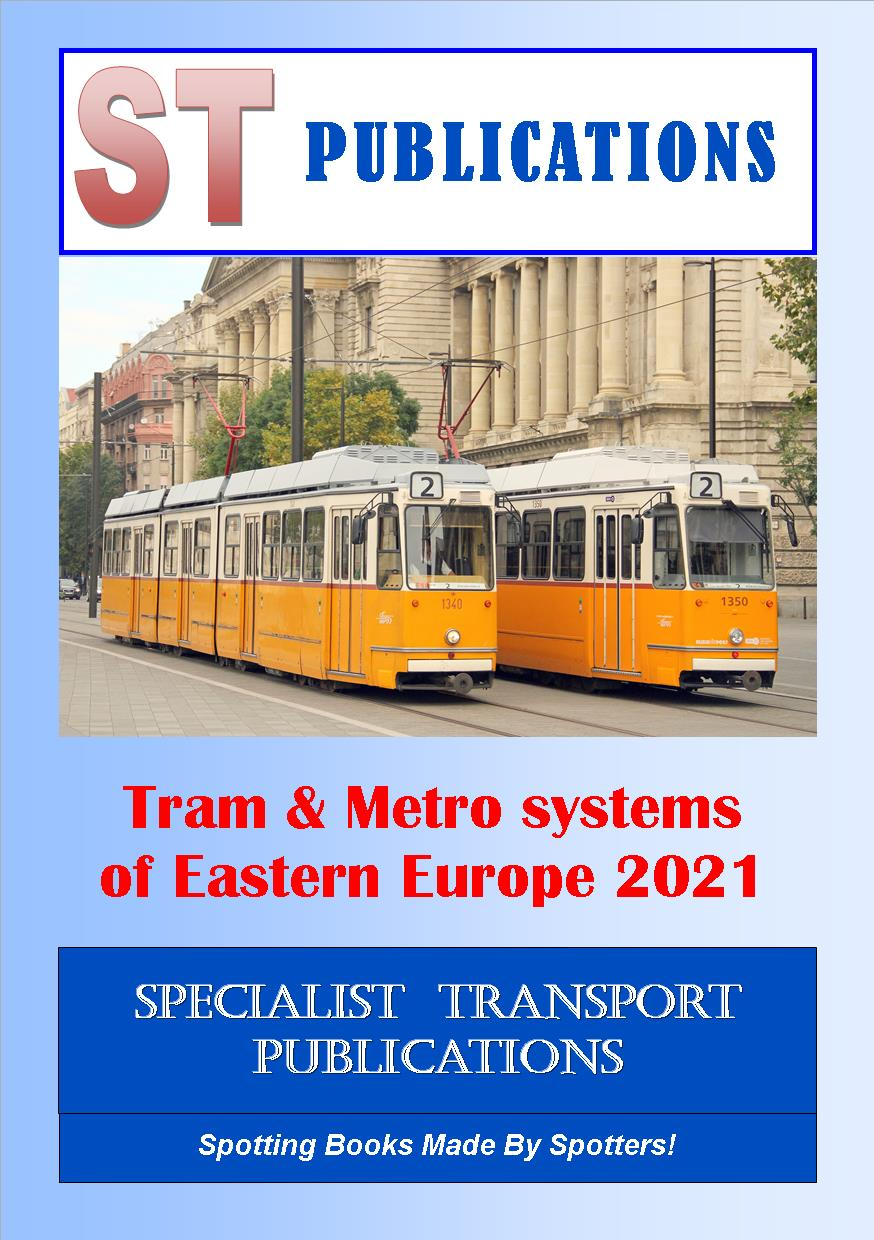 Cover of Trams and Metro Systems of Eastern Europe 2020