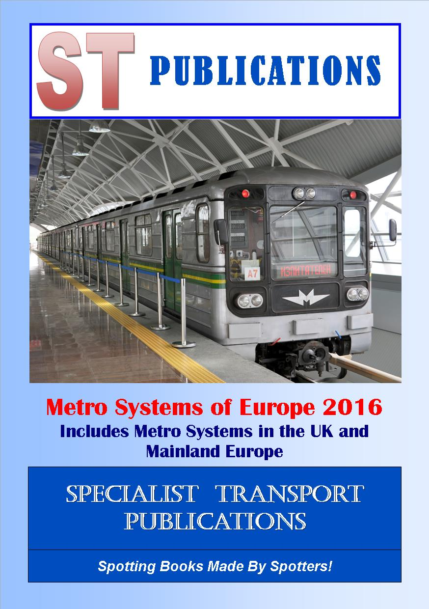 Cover of Metros of Europe