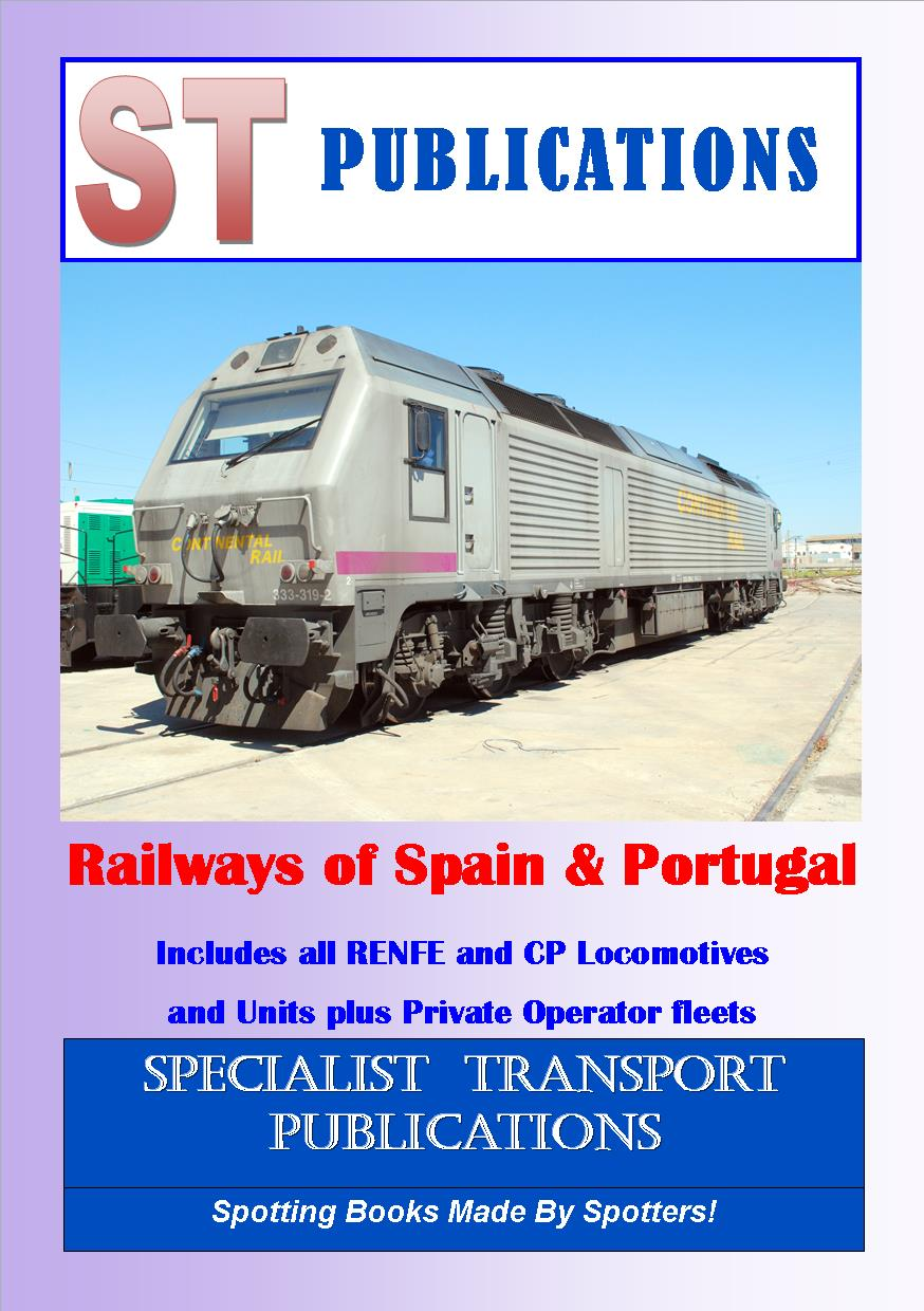 Cover of Railways of Spain and Portugal 2017