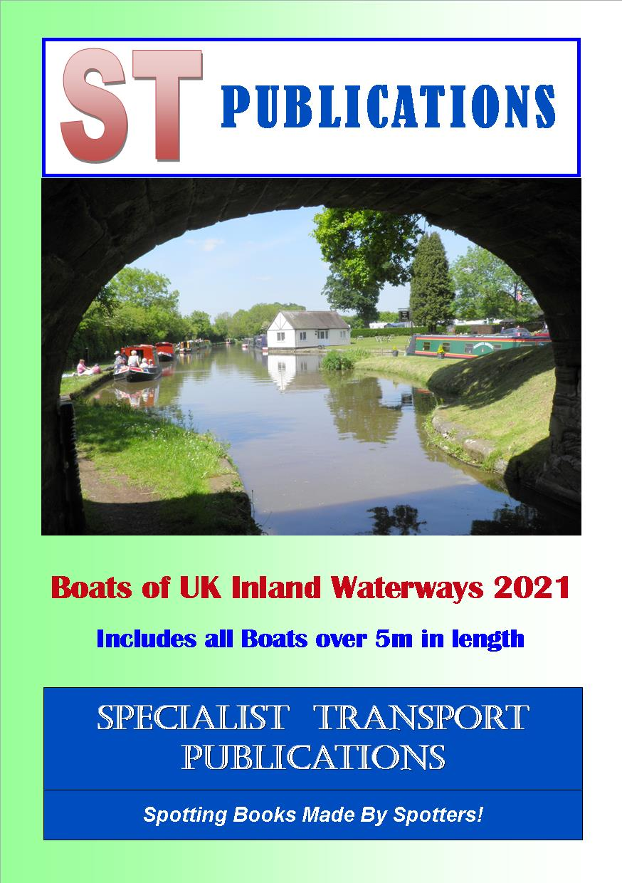 Cover of Boats of the UK Inland Waterways Volume 1