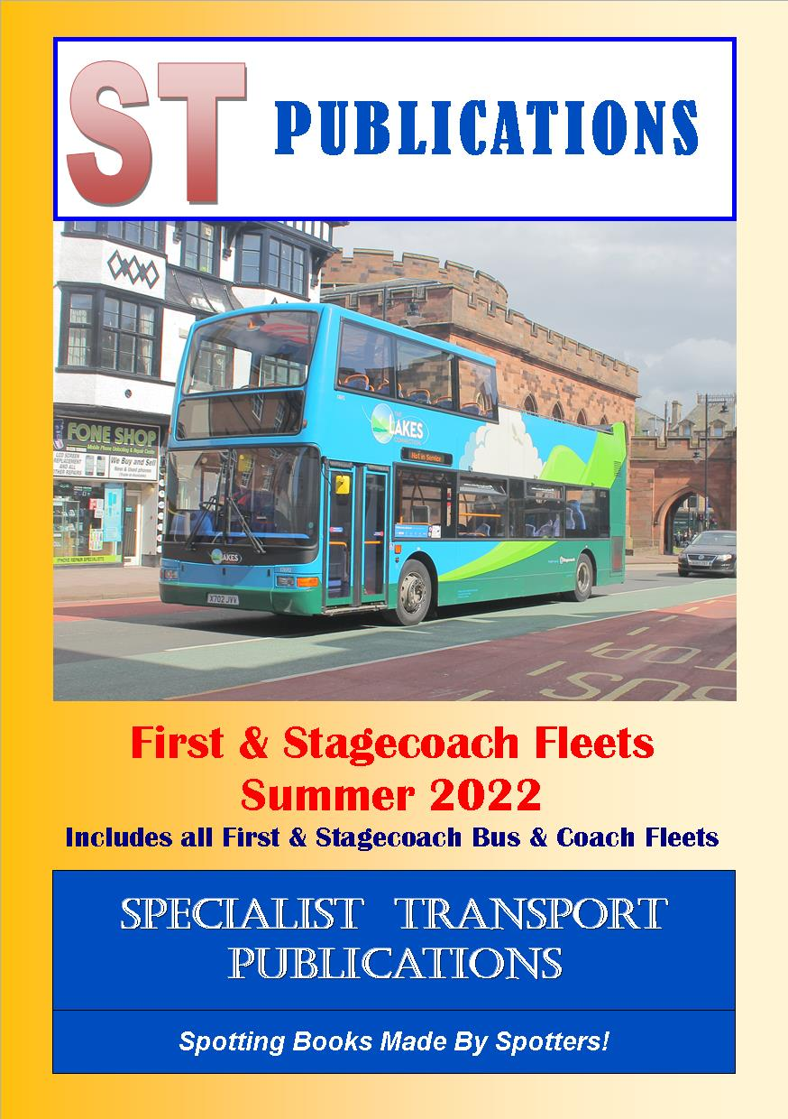 Cover of First and Stagecoach Bus Fleets 2021