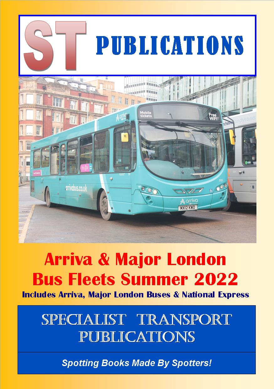 Cover of Arriva and Major London Fleets Summer 2019