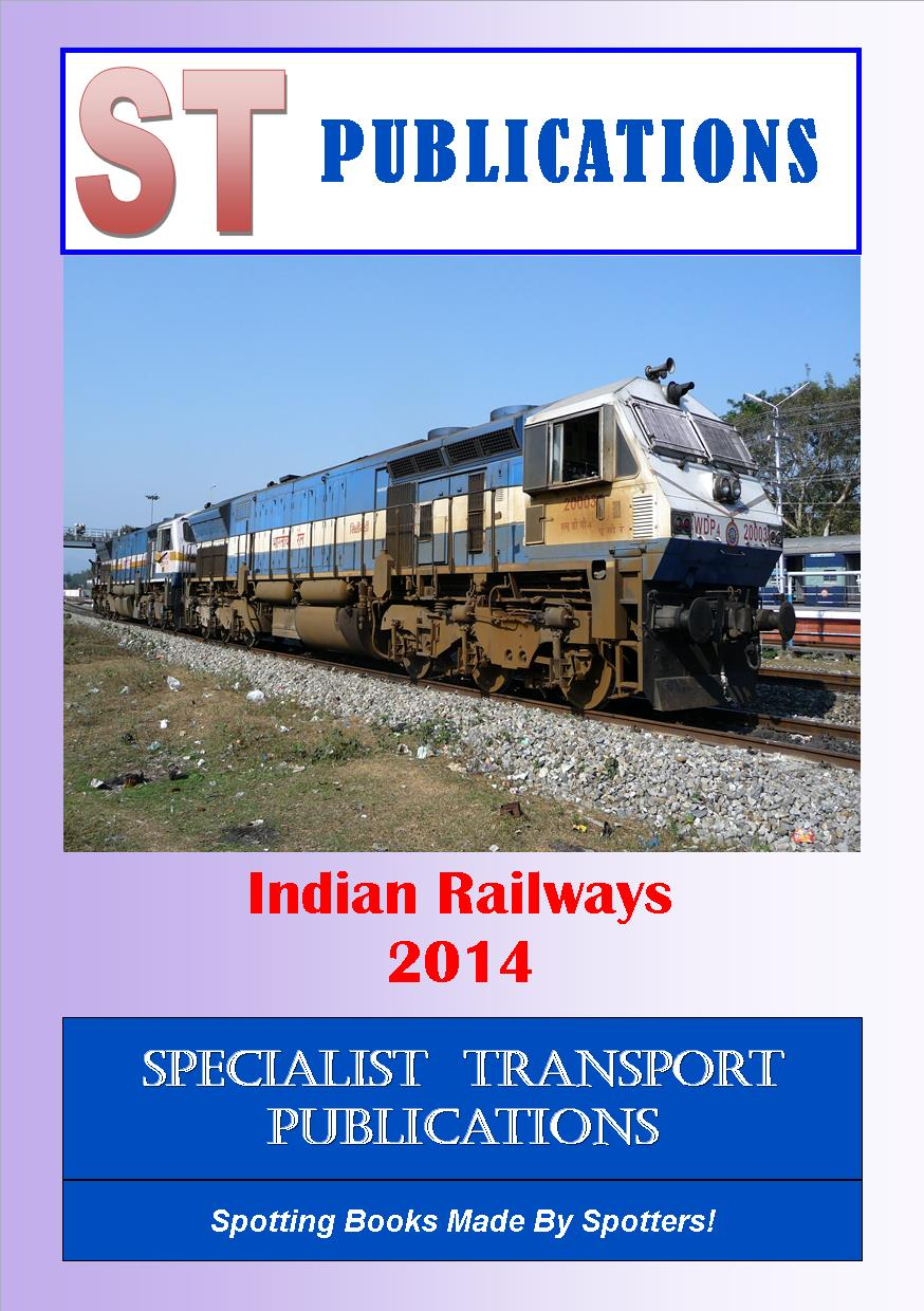 Cover of Indian Railways 2014
