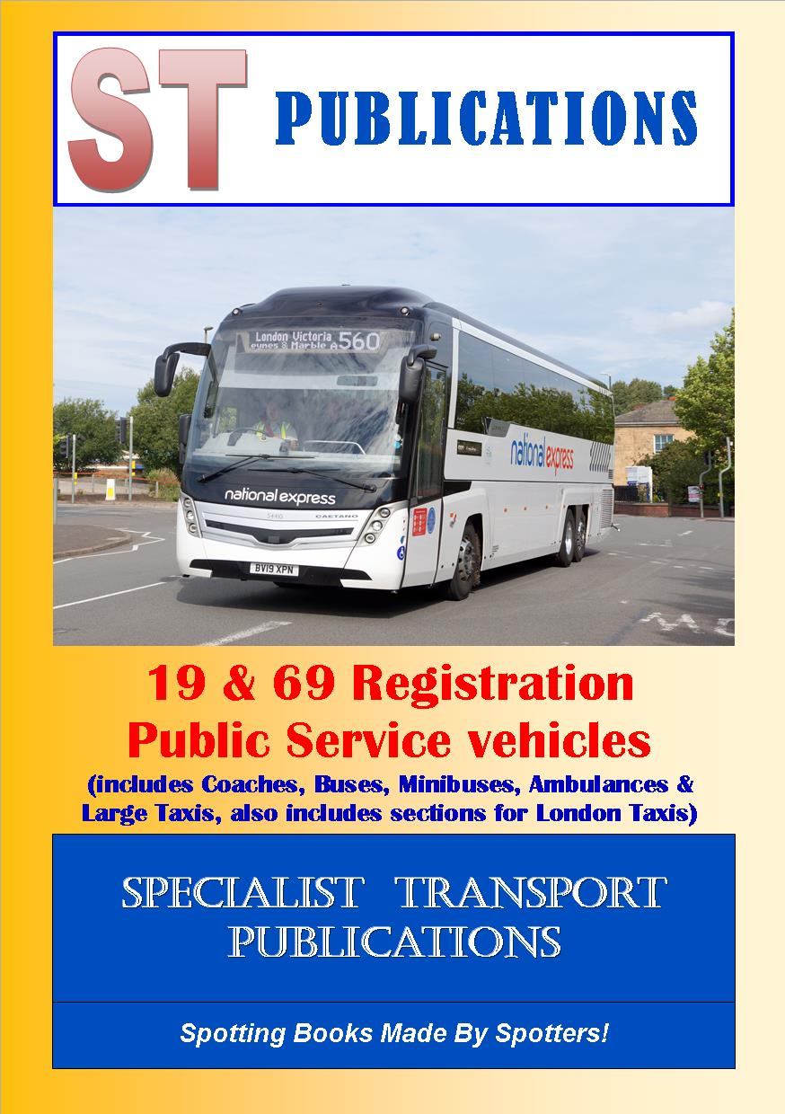 Cover of Independent Bus & Coach Fleets Ireland, Scotland & Wales 2019
