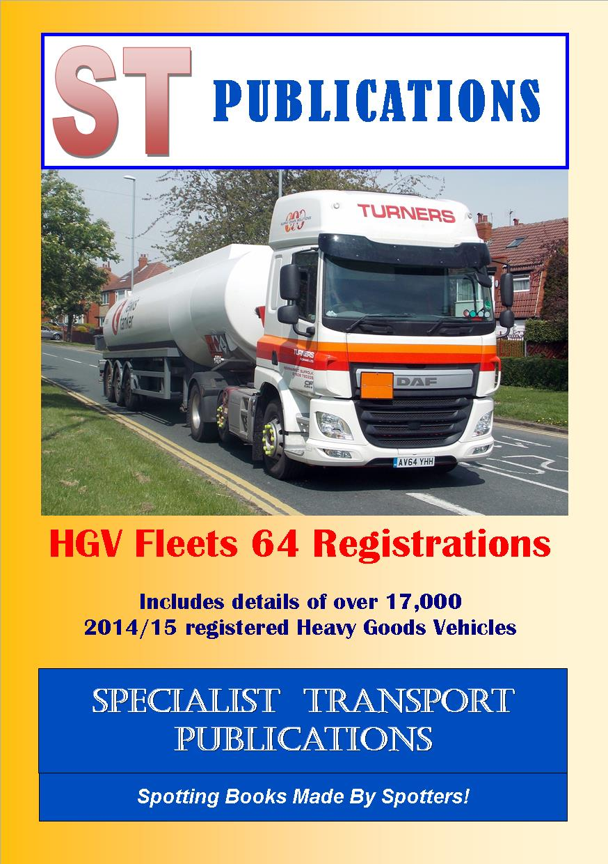 Cover of HGV Fleets 64 Registrations