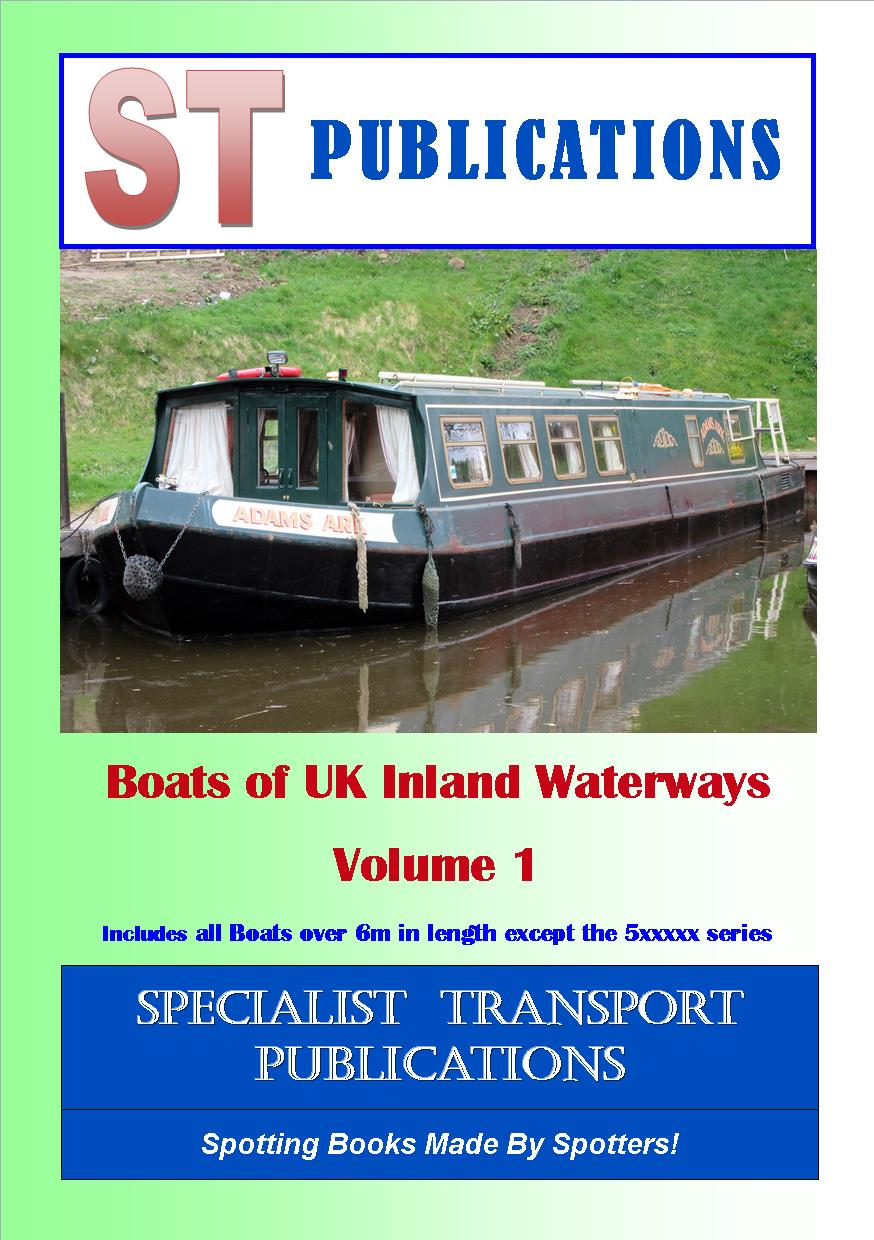 Cover of Boats of UK Inland Waterways Volume 1