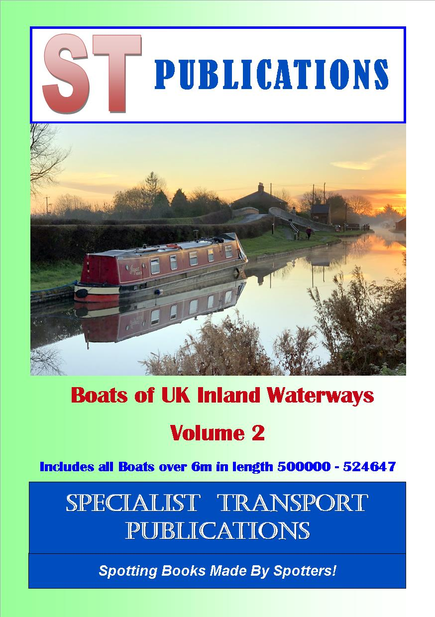 Cover of Boats of UK Inland Waterways Volume 2