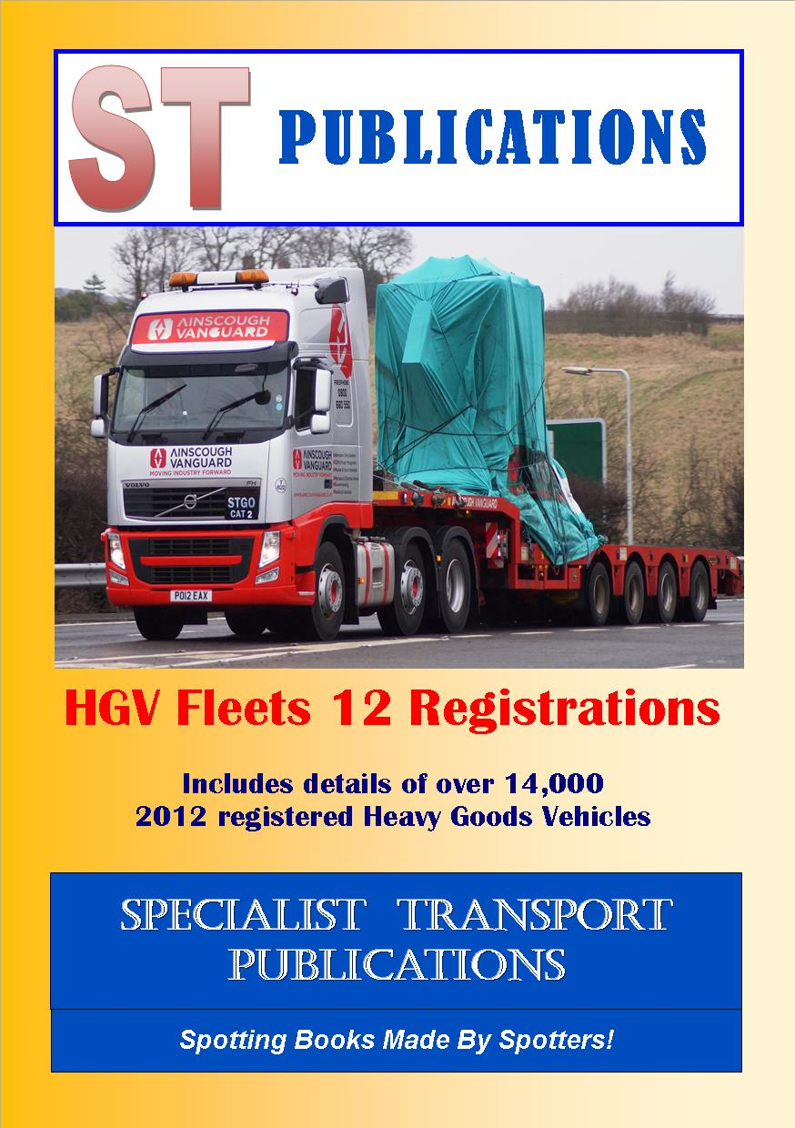 Cover of HGV Fleets 12 Registrations