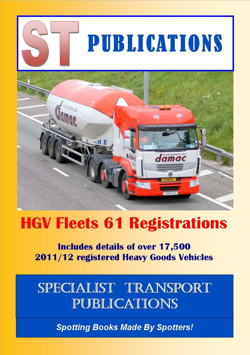 Cover of HGV Fleets 61 Registrations