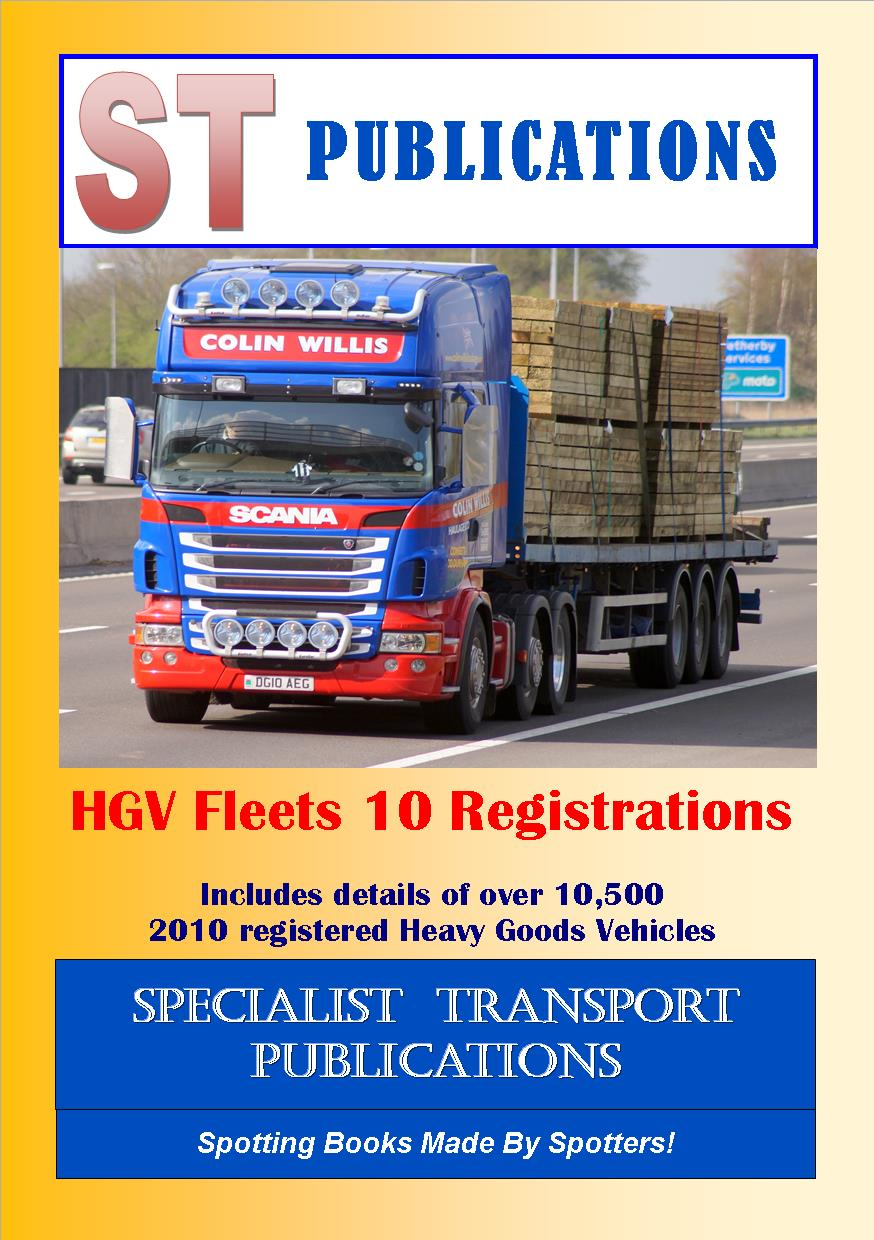 Cover of HGV Fleets 10 Registrations