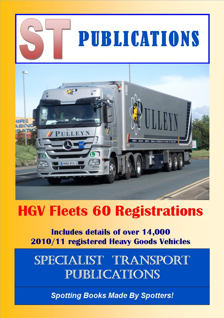 Cover of HGV Fleets 60 Registrations