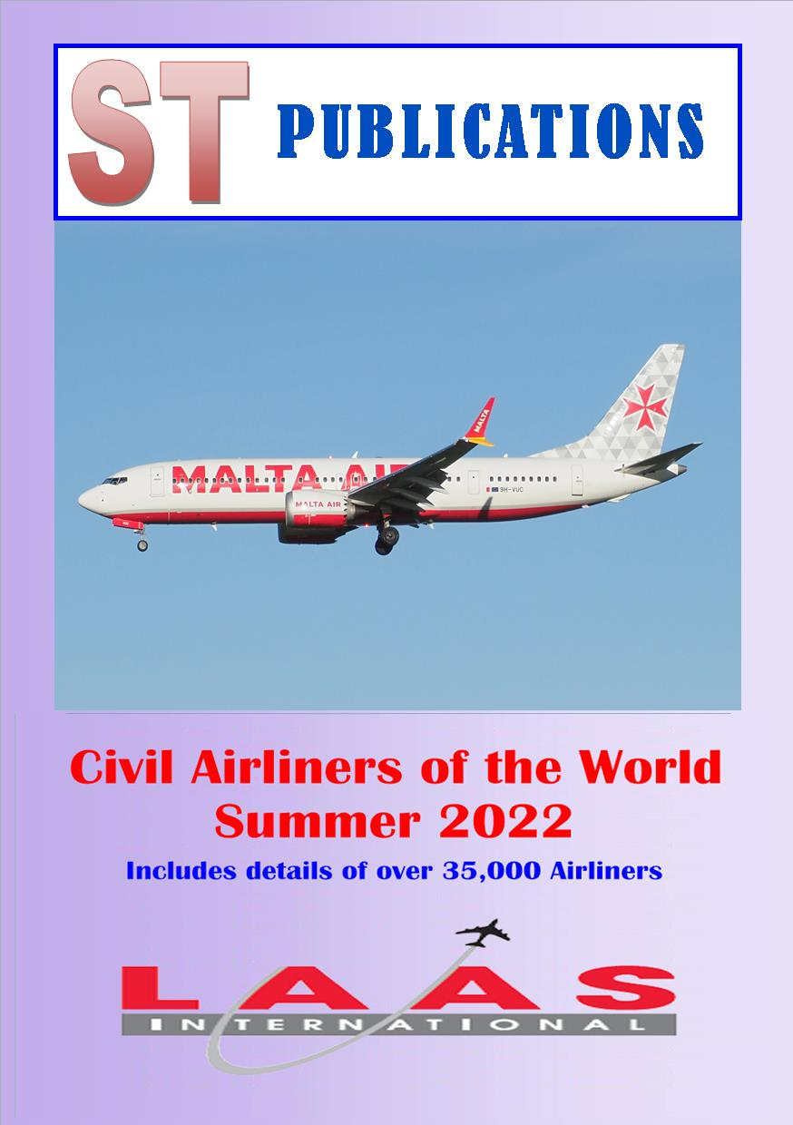 Cover of Civil Airliners of the World Summer 2018