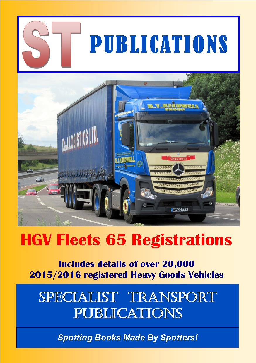 Cover of HGV Fleets 65 Registrations