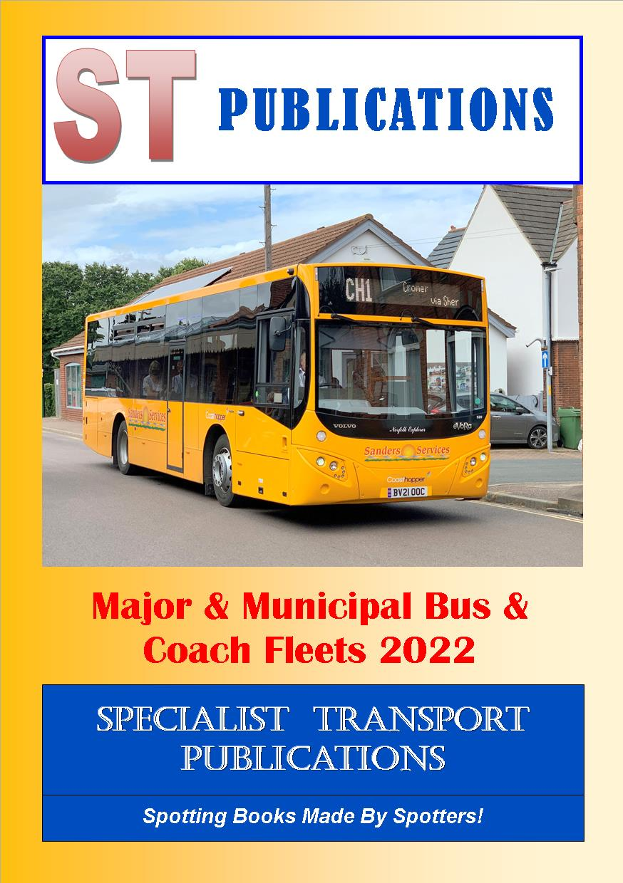 Cover of Major and Municipal Fleets 2021