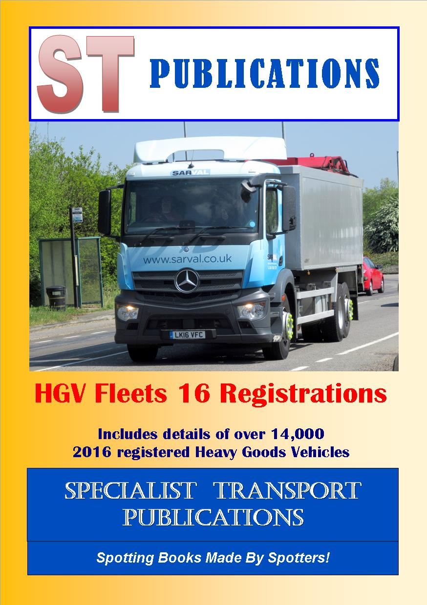 Cover of HGV Fleets 16 Registrations