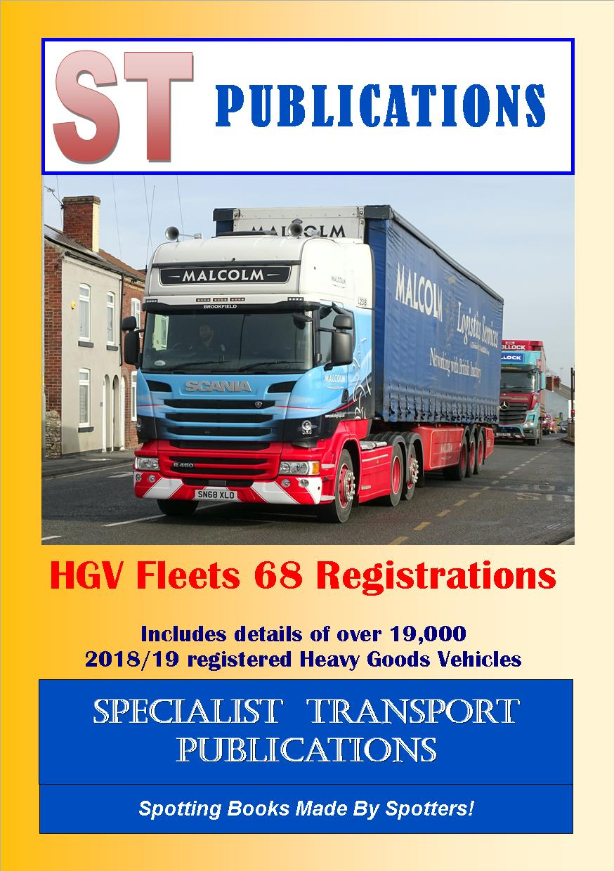 Cover of HGV Fleets 68 Registrations
