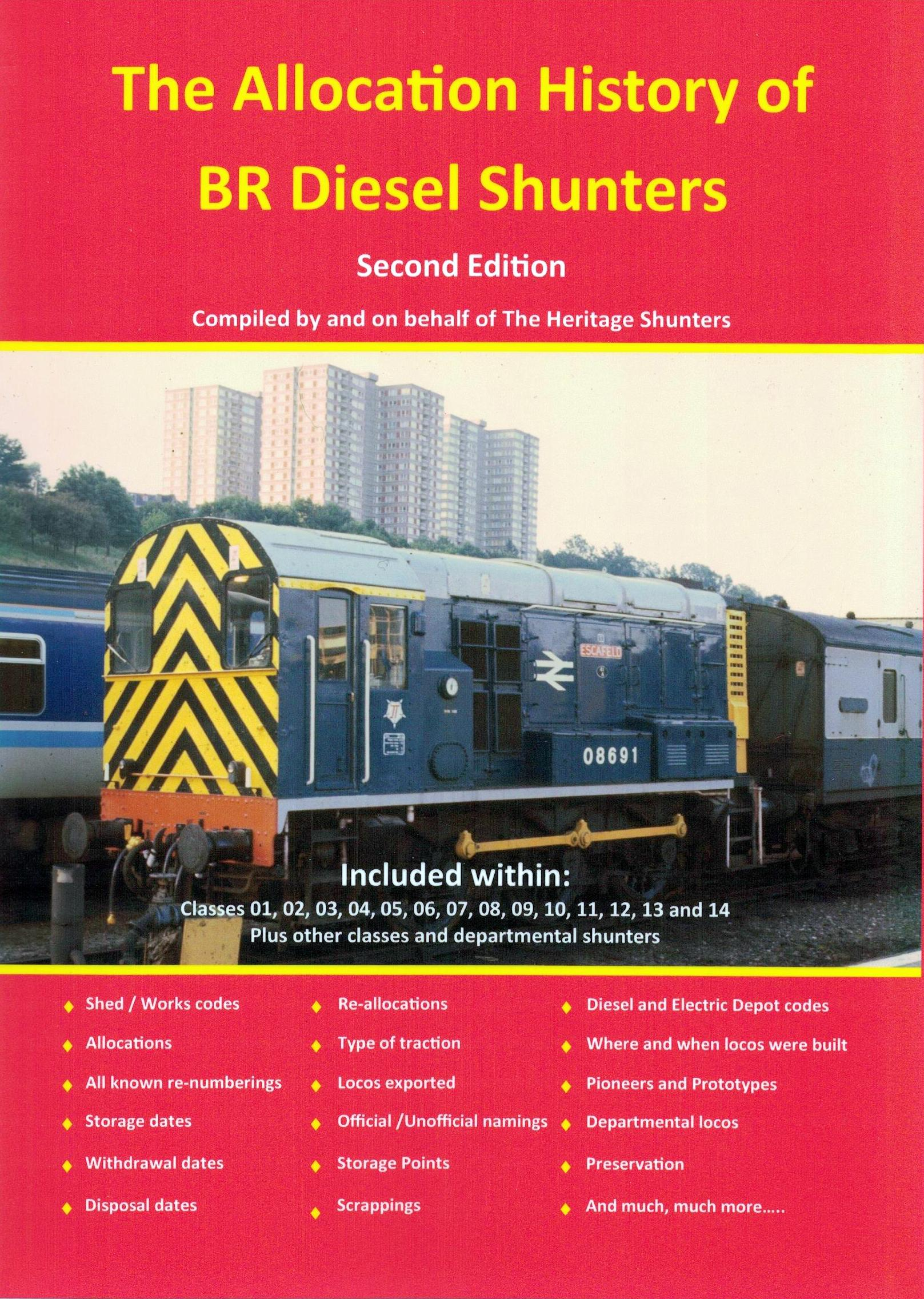 Cover of Allocation History of BR Diesel Shunters