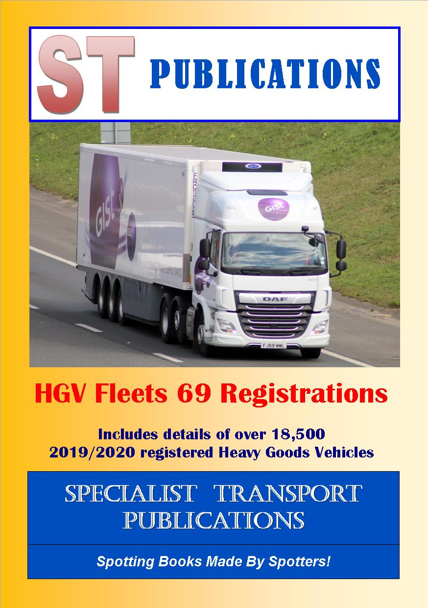 Cover of HGV Fleets 69 Registrations